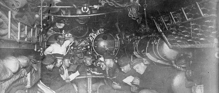 U-boat torpedo room
