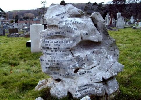 gravestone of John Mackay