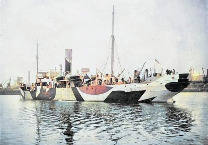 HMS SAXIFRAGE in 1918