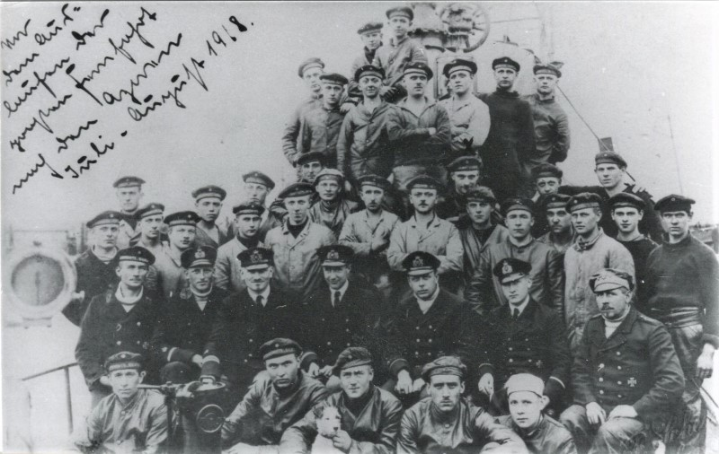 the crew of U 91 and Lotte